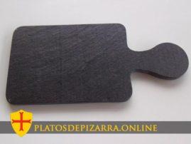 Bandeja de pizarra natural para decoración y diseño especial fabricada en el Bierzo (León).