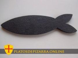 Bandeja de pizarra decorativa para restaurantes. Diseños personalizados de pizarra del Bierzo (León).