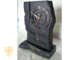 Regalos de empresa. Trofeos de pizarra. Fabricado por artesanos de la pizarra del Bierzo.