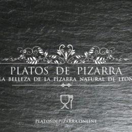 Platos pizarra para decoración. platosdepizarra.online. Platos de pizarra del Bierzo, León.